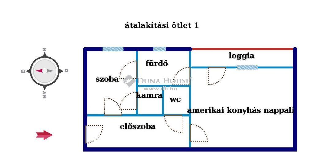 Eladó Lakás, Budapest - Vőlegény utcánál N+ hálóvá alakítható