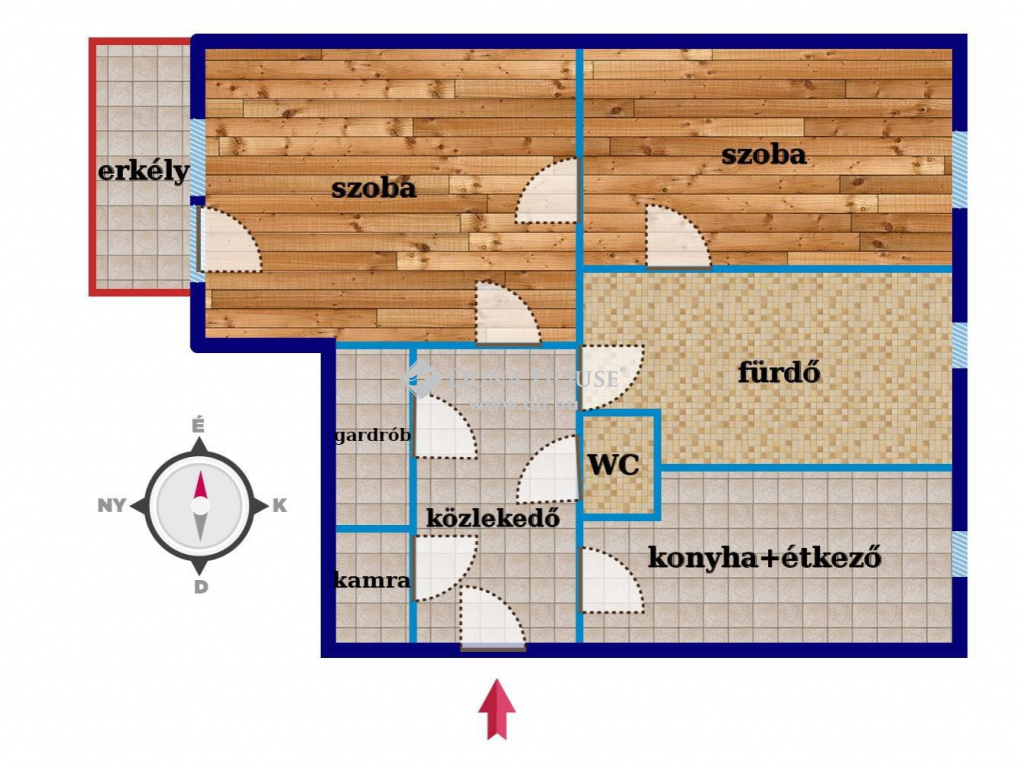 Eladó Lakás, Bács-Kiskun megye, Kecskemét - Téglaépítésű társasházban