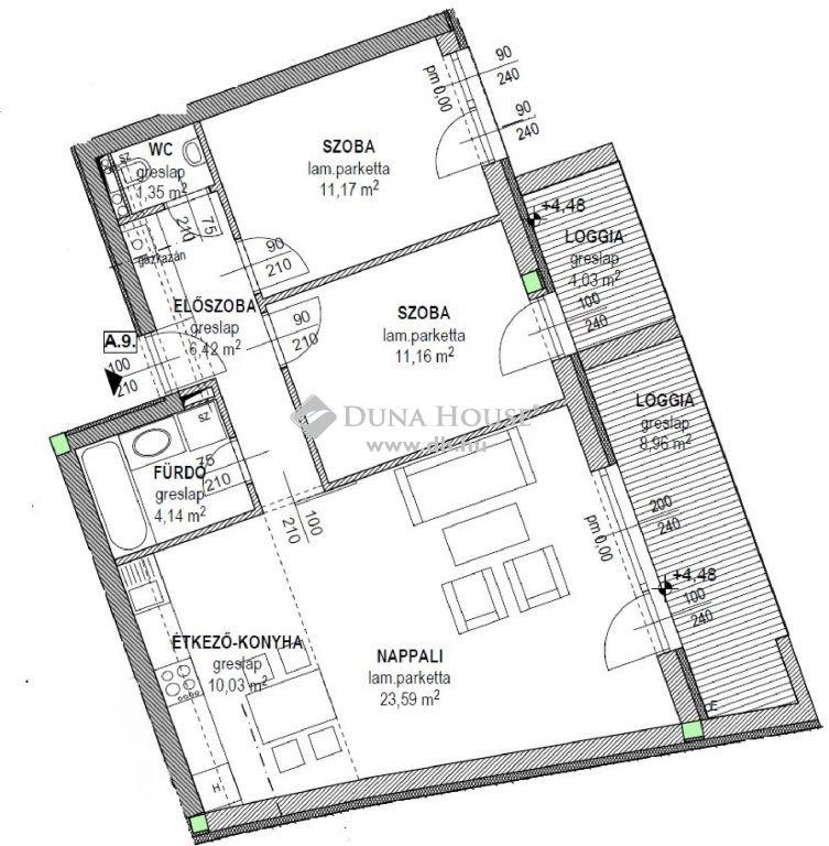 Eladó Lakás, Hajdú-Bihar megye, Debrecen - Belváros közelében új társasház