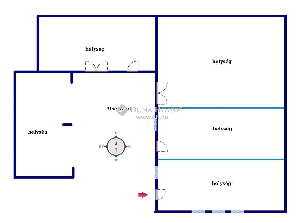 Eladó Ipari, Zala megye, Nagykanizsa - Eladó családi ház üzlethelységekkel Nagykanizsa belvárosában!