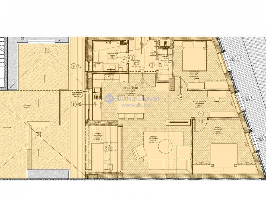 Eladó Lakás, Baranya megye, Pécs - EXKLUZÍV ÚJ ÉPÍTÉSŰ 4 szobás lakás