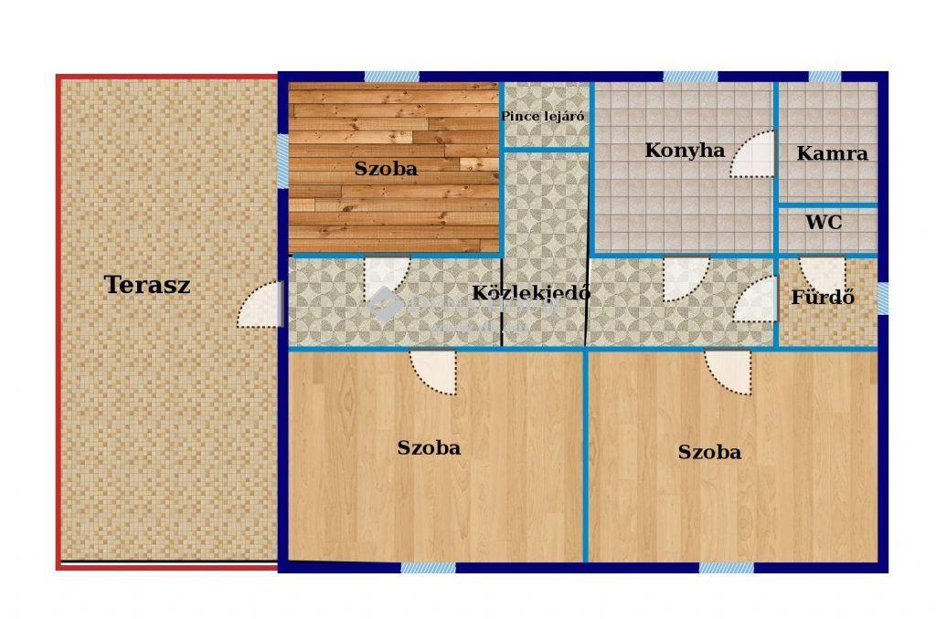 Eladó Ház, Győr-Moson-Sopron megye, Gönyű - Saroktelken családi ház