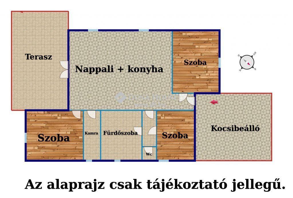 Eladó Ház, Pest megye, Erdőkertes - Árpád  és Béke utca sarok.